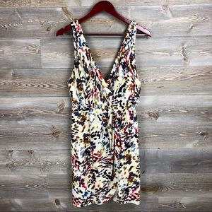 Alice + Olivia Silk Ashby Painters Pallet Dress